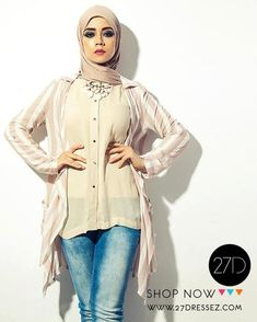 beige striped blazer outfit, 27dresses Eid collection http://www.justtrendygirls.com/27dresses-eid-collection/