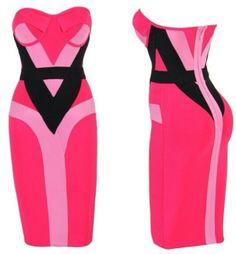 Pink & Black Dress... Nice