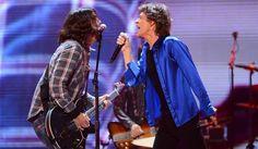Dave Grohl subió al escenario de los Rolling Stones: miralo aquí