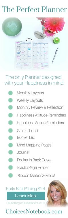 Planner, journal, goal setting, everything you need in one beautiful package. www.ChoicesNotebook.com #planners #selfimprovement #quotes