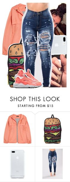 """Molly Brazy - outro."" by theyknowtyy ❤ liked on Polyvore featuring A.P.C. and NIKE"