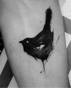 Kurt Staudinger bird tattoo