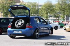 VW Golf 4 with AMG wheels