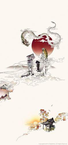 Japanese Legend / artwork:TadashiURA