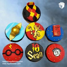 Harry Potter Cupcakes | Cakes by The Regali Kitchen