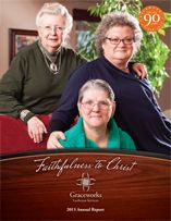 Our 2015 annual report. The theme is Faithfulness to Christ.
