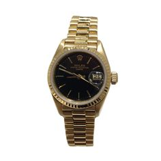 Beckers Jewelry Corp - Rolex Date Oyster Perpetual, Black dial