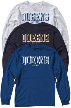 Product queens university of charlotte open bottom for T shirt printing in charlotte nc
