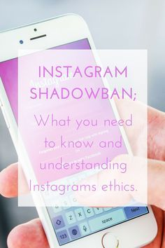 Have you been Shadowbanned on Instagram?  Discover what causes you to be shadowbanned and what you can do to fix it...