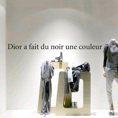 """Stickers """"Dior, noir et couleurs"""""""
