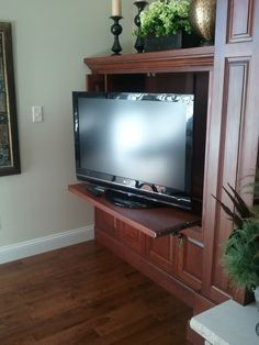 Tv Inside Cabinet Swivel Tv In Family Room Swivel Tv Inside Cabinet Hidden Tv In
