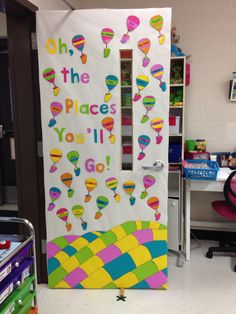 Oh, the Places You'll Go! - classroom door
