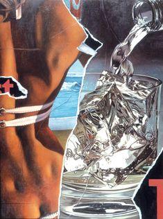 Cinzano - 2005 - Handsiebdruck auf Bütten - 67,2 x 50 cm auf 81,3 x 62,2 cm - Auflage 90 Exemplare