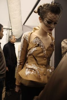 The Last Dior Couture by John Galliano. Dior Backstage, Spring Summer 2011. by eula