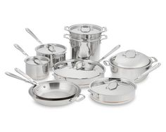 I love the All-Clad Copper Core 15-Piece Cookware Set on Williams-Sonoma.com