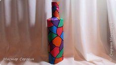 decoração garrafa marcador e tintas acrílicas (520x293, 105kb)