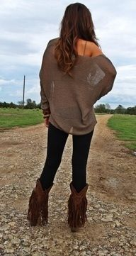Love this outfit <3 (casual country outfits brown)