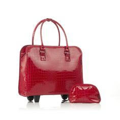 bfeec56e256e $109.65 Two Lumps of Sugar Red Croc E Roller from The Shopping Channel