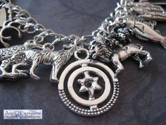 Westeros and Beyond Game of Thrones Charm Bracelet OOAK by AngelQ, $26.95