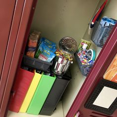 Middle School Ready. Locker Ideas. Boys' Locker Ideas. 6th Grade.
