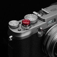 Amazon.com : Gariz Metal XA-SBA3 Camera Screw Type Soft Button for X-PRO1 X100 X10 LEICA CONTAX, Red : Camera & Photo