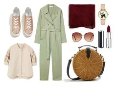 """""""Jumpsuit Love"""" by aneeqlondon on Polyvore featuring MANGO, Givenchy and modestfashion"""