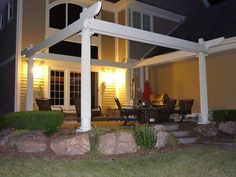 Construction - first 6 beams Curved Pergola, Rainbow Light, Strip Lighting, Beams, Construction, Outdoor Structures, Led, Lights, Building