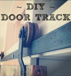 A #DIY tutorial on how to make your own track doors. Awesome door sexiness.
