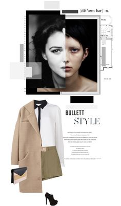 """""""Contrast"""" by nathaliet22 ❤ liked on Polyvore"""