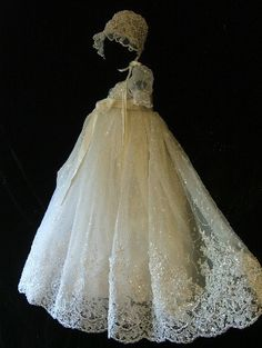 Free Shipping Ball Gown Empire Tulle Short Cap Sleeve Lace Beads Sequined Floor-Length First Communion Dresses Custom Made $79.00