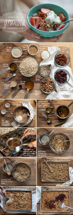 Make your own granola.