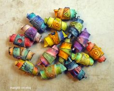 Rolled Beads   Flickr - Photo Sharing!