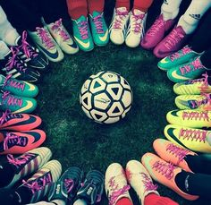 I miss my old soccer team :/ i wish i was playing soccer again...