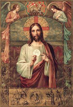 Quinta-feira (15/06), às 11h – Missa Solene seguida de Procissão do Santíssimo