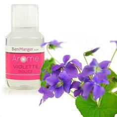 BienManger aromes et colorants - Arôme alimentaire naturel de violette