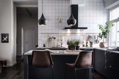 Scandinavian spaces are perfect for a Friday. Super comfortable and casual and bright with the ...