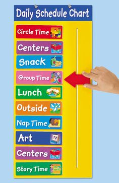 Creating a Visual Schedule for your preschool, pre-k and kindergarten students is extremely important! When students know what to expect it helps them feel safe. When children feel safe, amazing learning can happen! Get these visual schedule cards FREE Daycare Schedule, Preschool Schedule, Preschool Learning, In Kindergarten, Preschool Activities, Teaching, Class Schedule, Community Activities, Preschool Room Decor