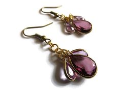 One-Of-A-Kind Recycled Earrings by TaylorsArtsAndCrafts on Etsy