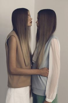 Super straight ombre hair
