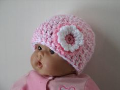 Easy Pink Twist Newborn Infant Hat Crochet Pattern - 2 sizes PDF 062 Permission to Sell Finished Items. $2.99, via Etsy.