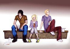 Break by *leelee2489 on deviantART - The Darkest Powers series - Kelley Armstrong - Derek, Chloe and Simon - Fan Art