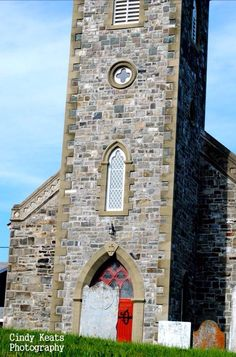 Built in The oldest stone Gothic Revival style church in Newfoundland. Anglican Church, Old Stone, Newfoundland, Over The Years, Gothic, Old Things, Building, Photos, Style