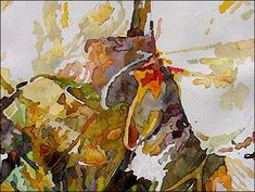 watercolor painting, free art tutorial, drybrush