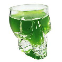 Skull shot glasses, great for Halloween!