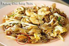 Char Kuey Teow: For readers who are not familiar with Malaysian street food, Char Kuey Teow is one of the most popular street food in Malaysia. It's also a much-recommended dish at Malaysian restaurants in the United States.