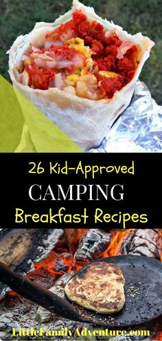 Forget the bagels and the cereal on your next family camping trip - Here are 26…