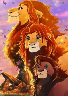 The Lion Kings by VanRah.deviantart.com on @DeviantArt