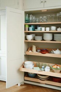 Clapham Painted Shaker Kitchen traditional-kitchen