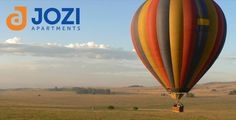 Today's Top Jozi ActivityHot Air Balloon Rides In #Jozi take off from the banks of the scenic Lake Heritage within Heia Safari, a private game reserve located within the Cradle of Humankind. Due to safety precautions, hot air balloon flights in Gauteng only operate in the early morning. Air Balloon Rides, Hot Air Balloon, Balloon Flights, Safety Precautions, Private Games, Game Reserve, Early Morning, Banks, Safari
