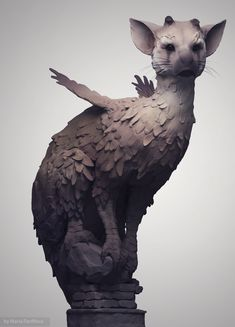 Trico from Last Guardian Fanart of one of my most favorite creatures